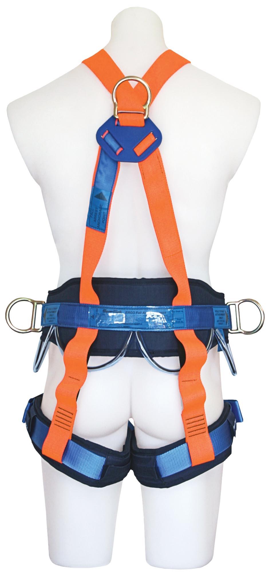 1800 Ergo Full Body Harness Get Set Training Get Set